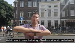 NL: History of School for the Deaf Guyot, Groningen